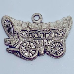 Vintage Covered Wagon Oregon Trail Goin West Charm